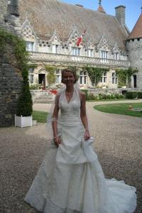 September Bride at Hattonchatel