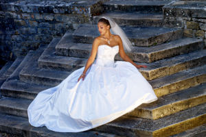 Bride at Hattonchatel